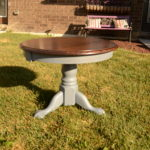 Painted and refinished end table